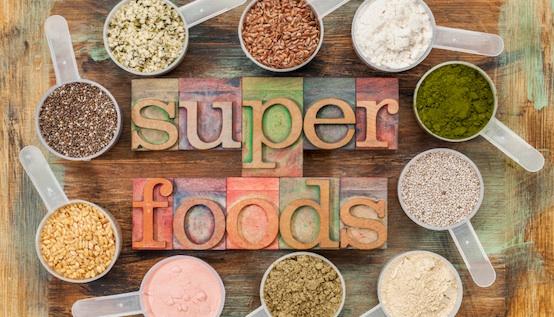 Heilende Wirkung von Superfoods